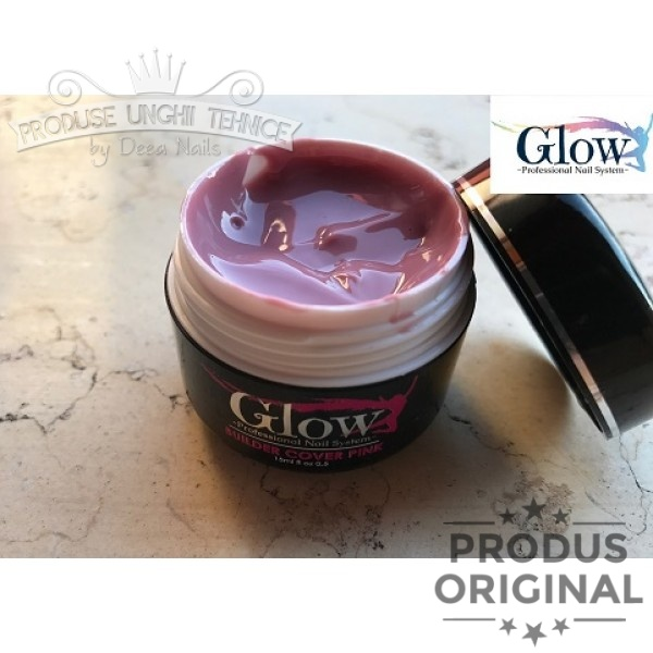 Gel Glow Builder Cover Pink